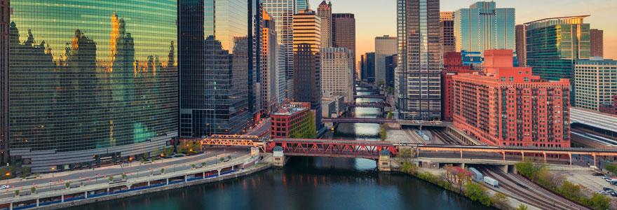 Voyage touristique à Chicago